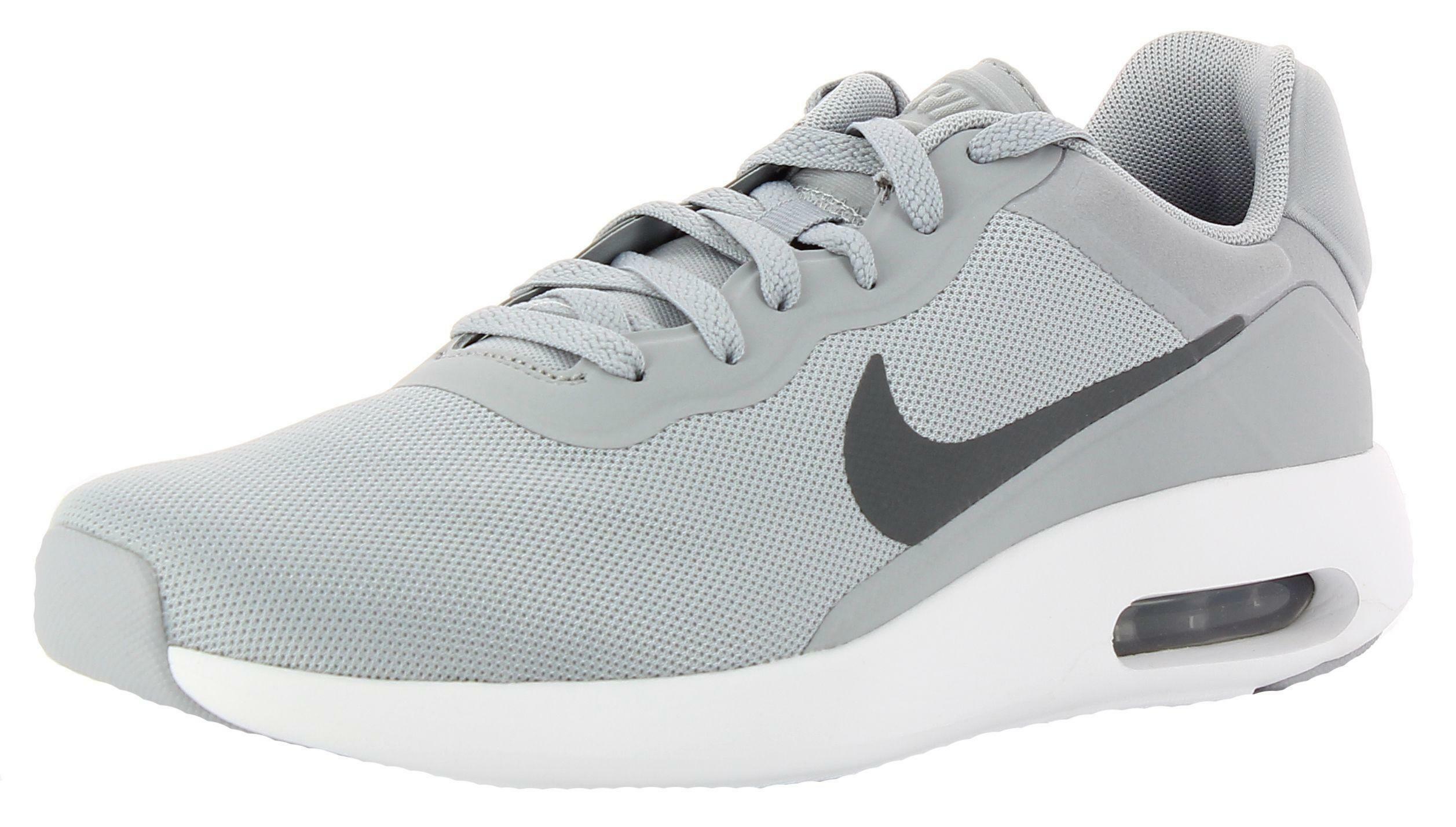 nike nike air max modern essential scarpe sportive uomo grigie