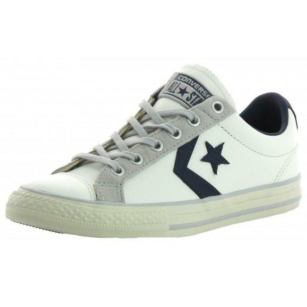converse converse star player ev ox scarpe sportive bianche