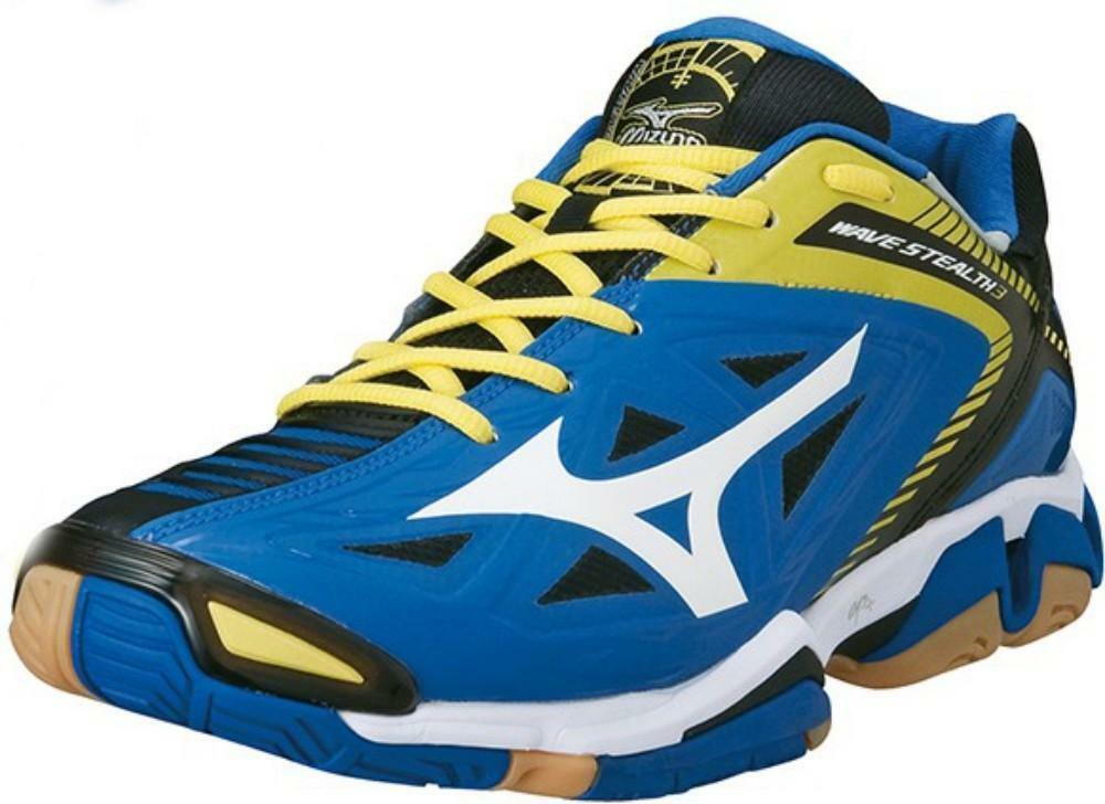 più foto online qui personalizzate Mizuno wave stealth 3 scarpe pallamano uomo blu 140024
