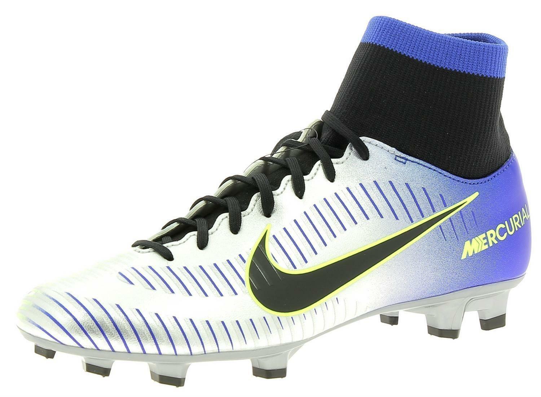 nike nike jr mercurial victory 6 df njr scarpe calcio bambino argento