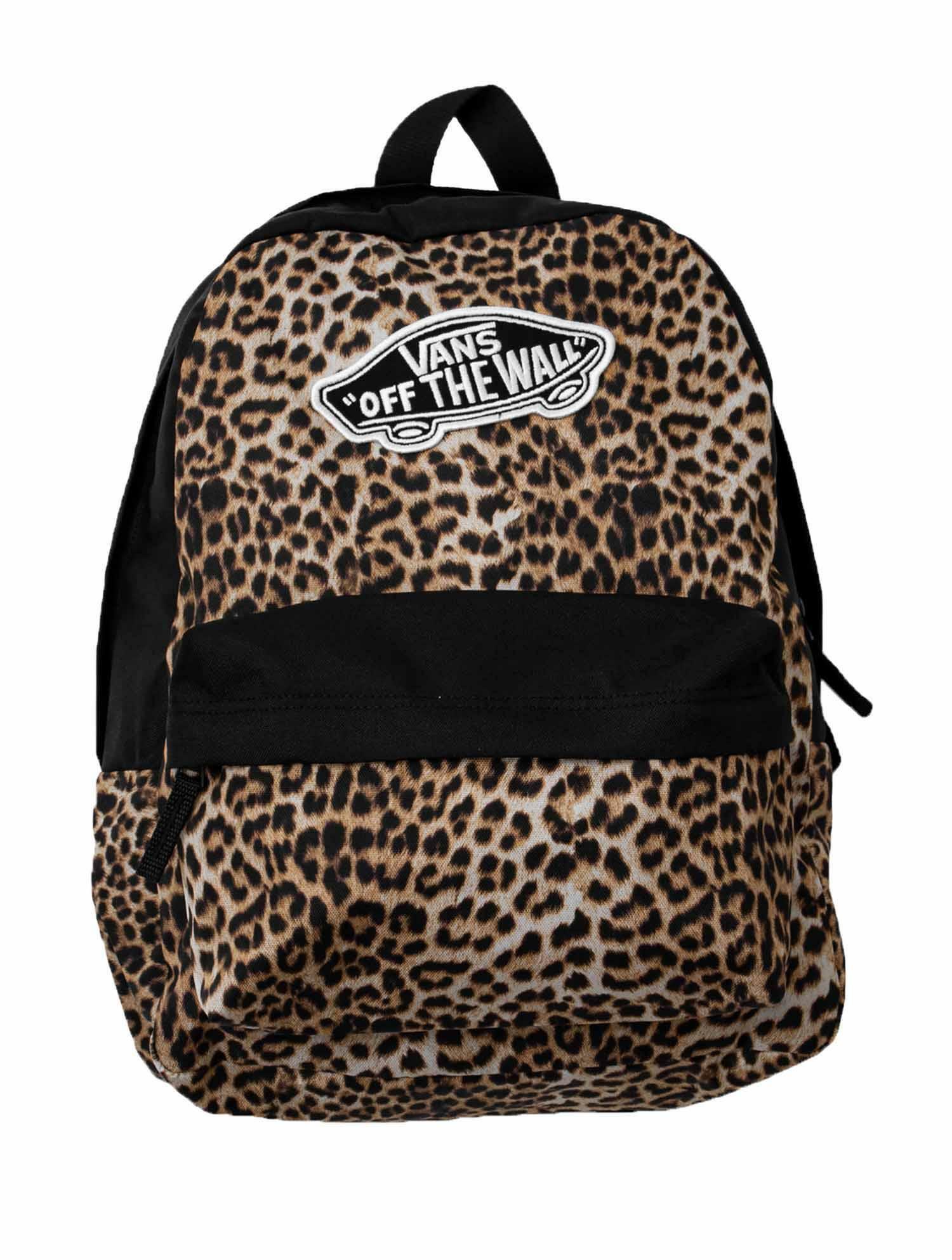 Vans zaino vans realm backpack vn0a3ui6zv21 donna leopardato