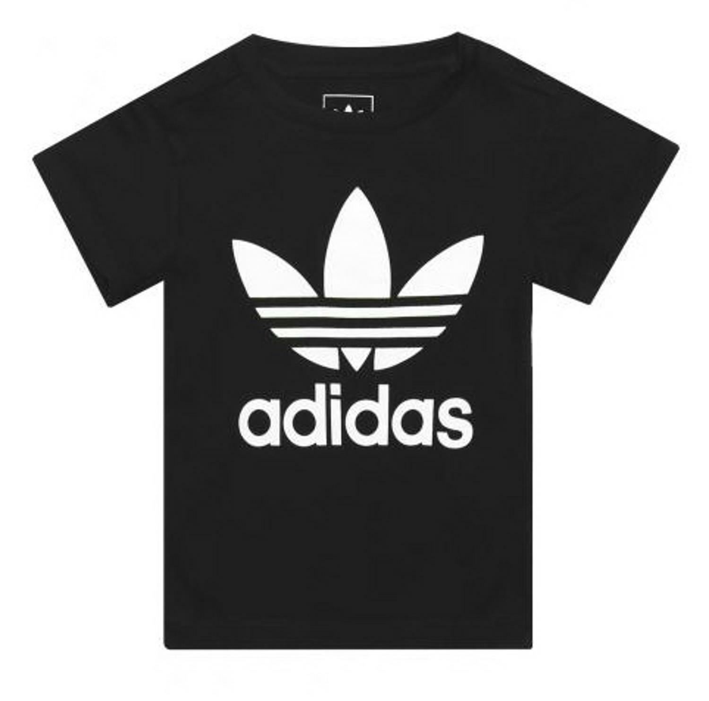 adidas adidas l trf t-shirt bambina nera