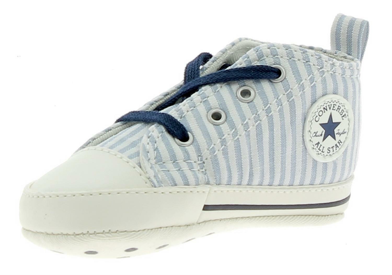 converse converse ctas first star hi scarpe culla bambino celesti