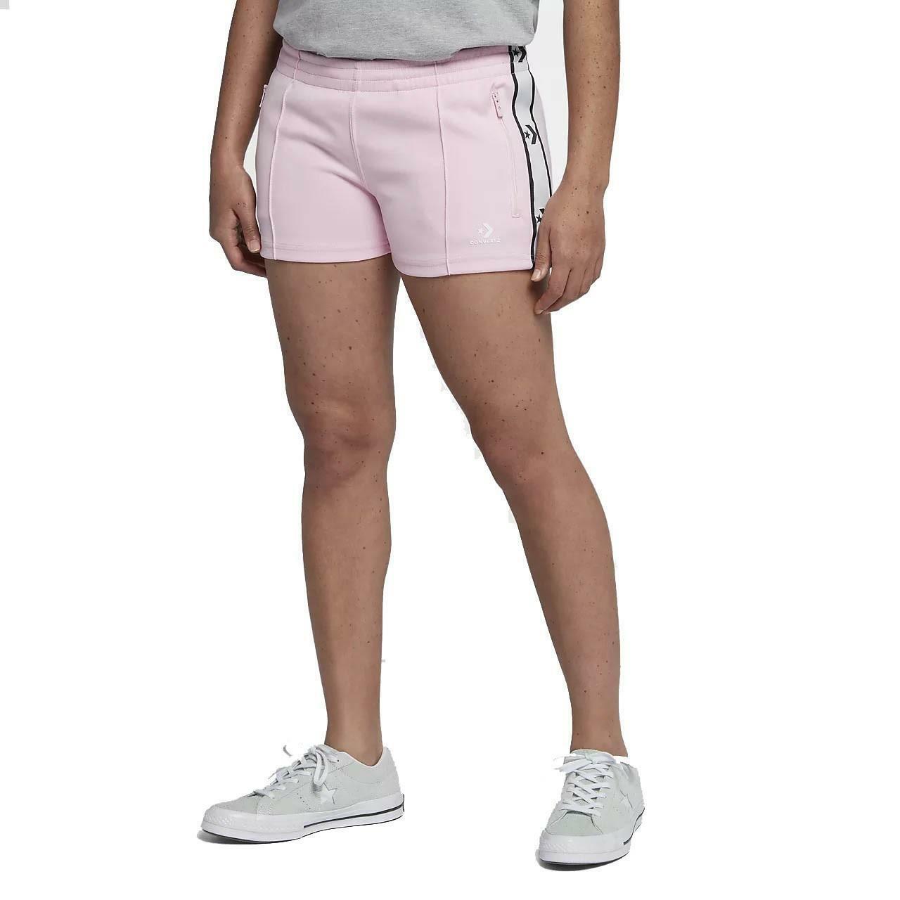converse converse star chevron track pantaloncini donna rosa 7468a03