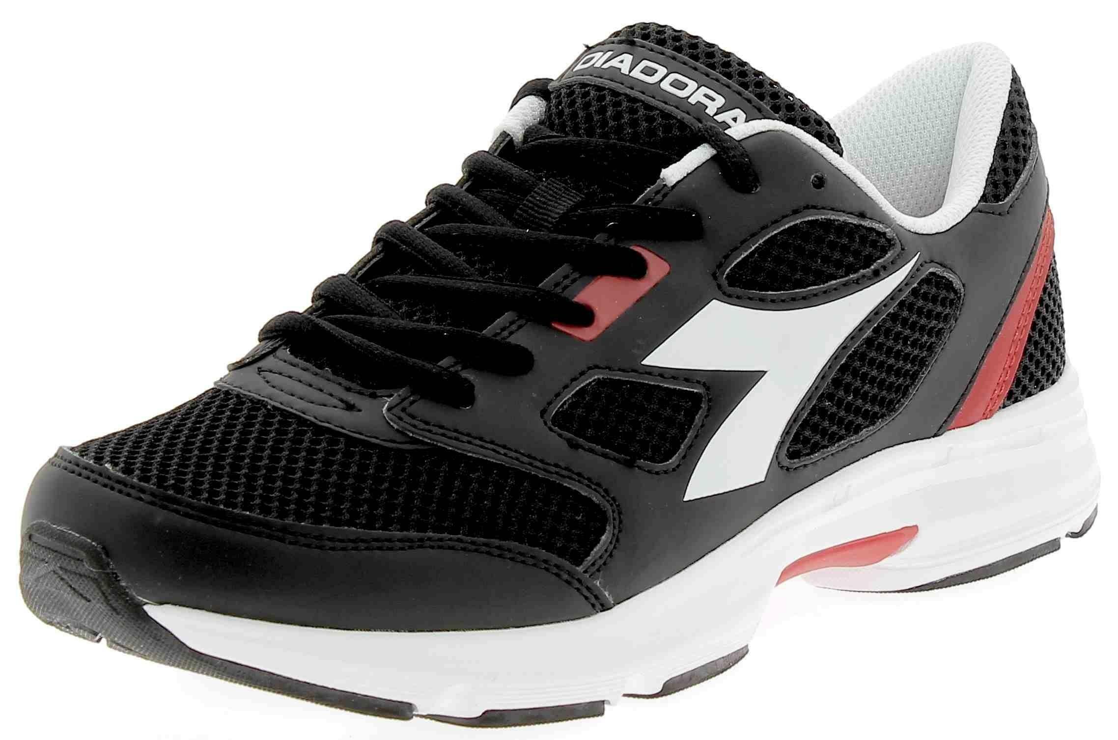 e1f83c45 Details about Diadora Shape 7 Mens Black Sports Shoes