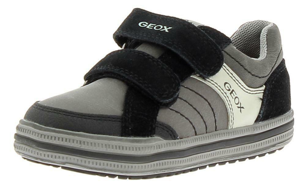 geox geox j elvis scarpe sportive bambino grigie
