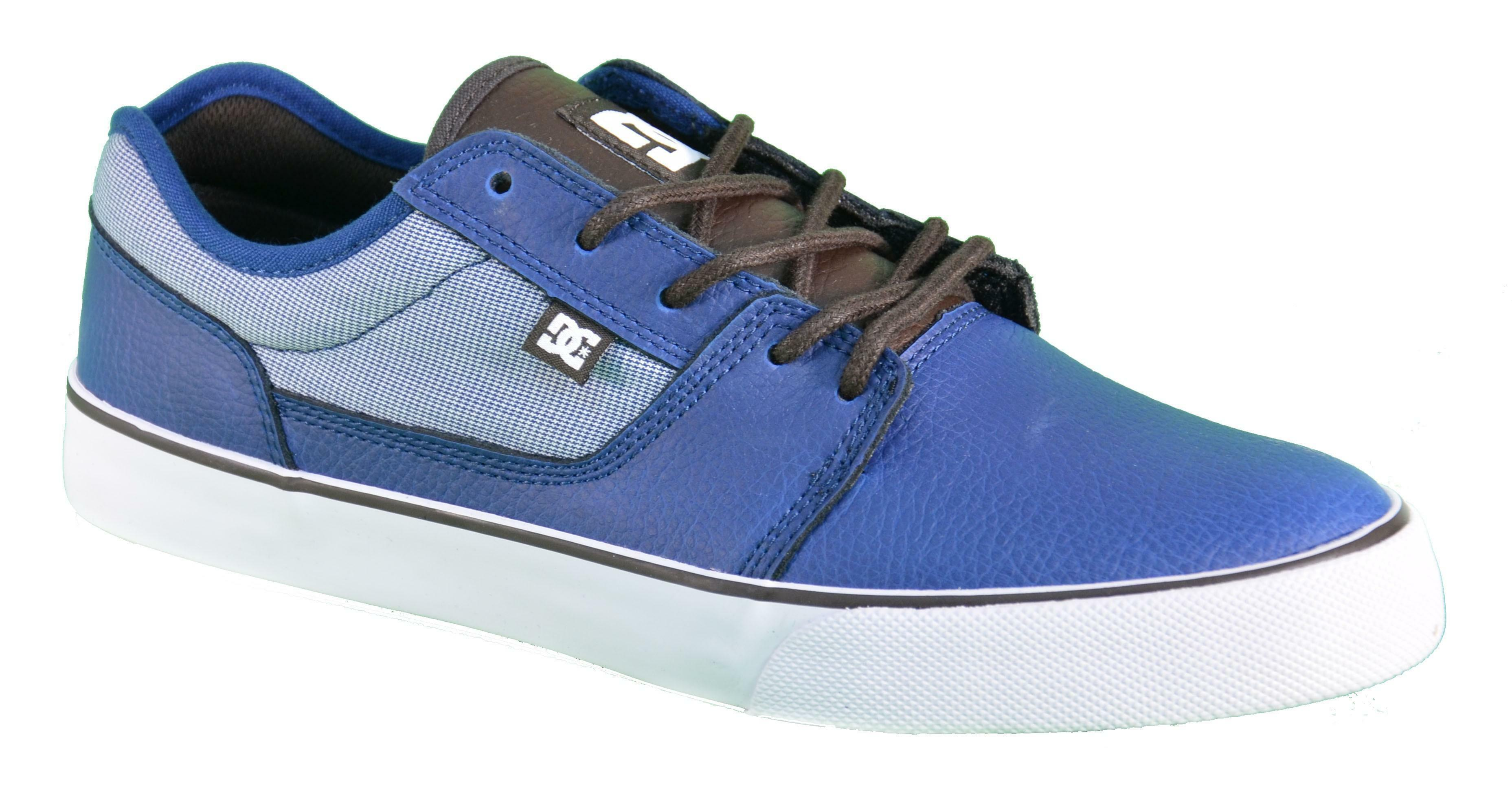 dc shoes tonik xe scarpe blu pelle 300022