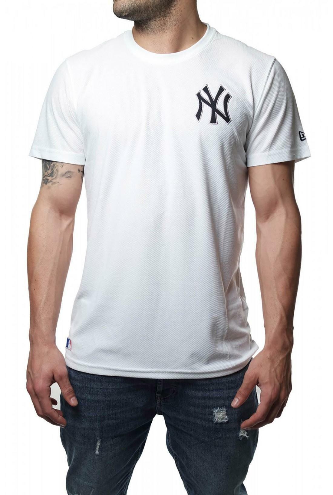 new era new era diam era cst tee neyyan t-shirt uomo bianca 11244588
