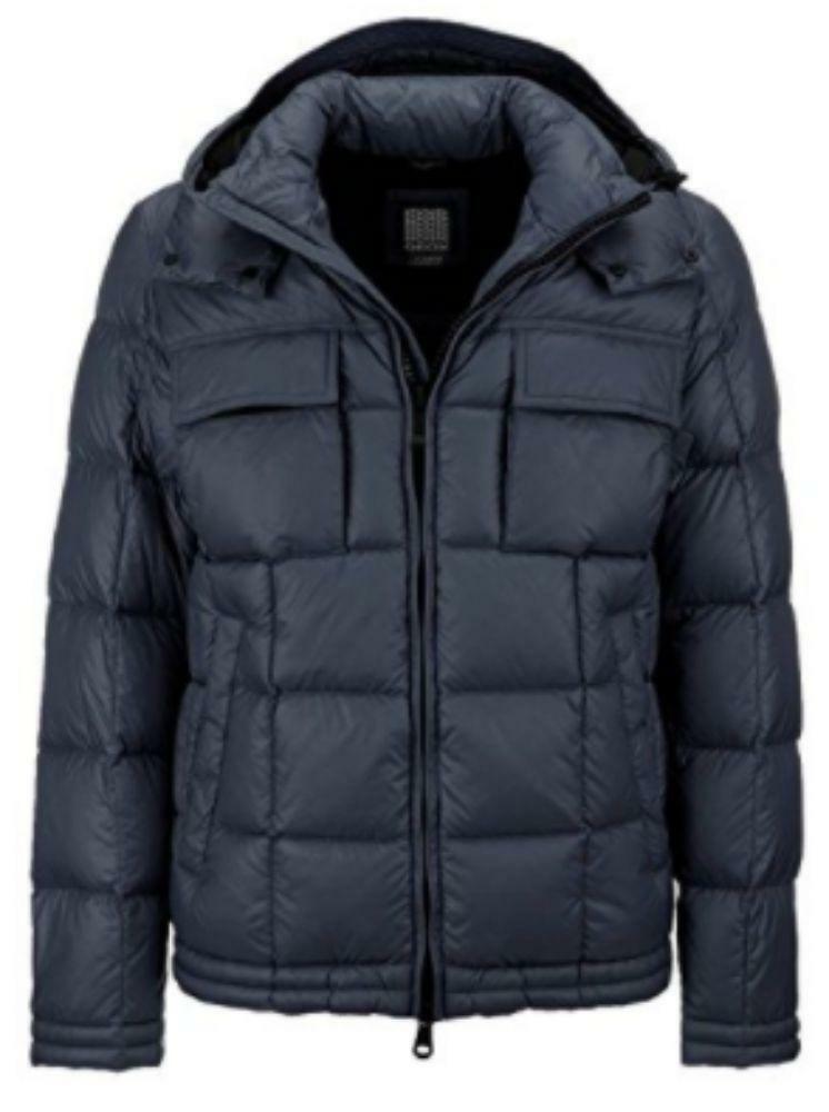 geox geox down jacket giubbotto uomo blu
