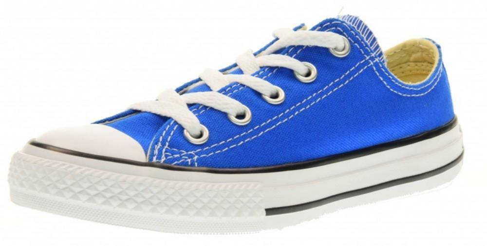 converse converse ctas ox scarpe sportive blu tela