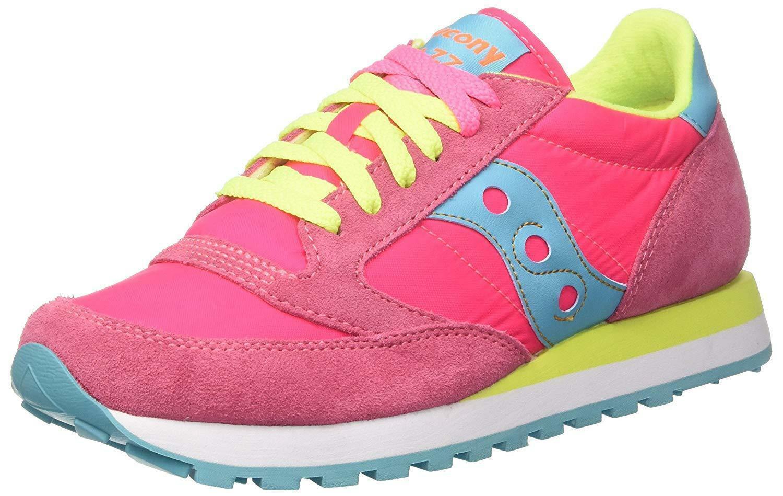 saucony saucony jazz original scarpe donna rosa gialle