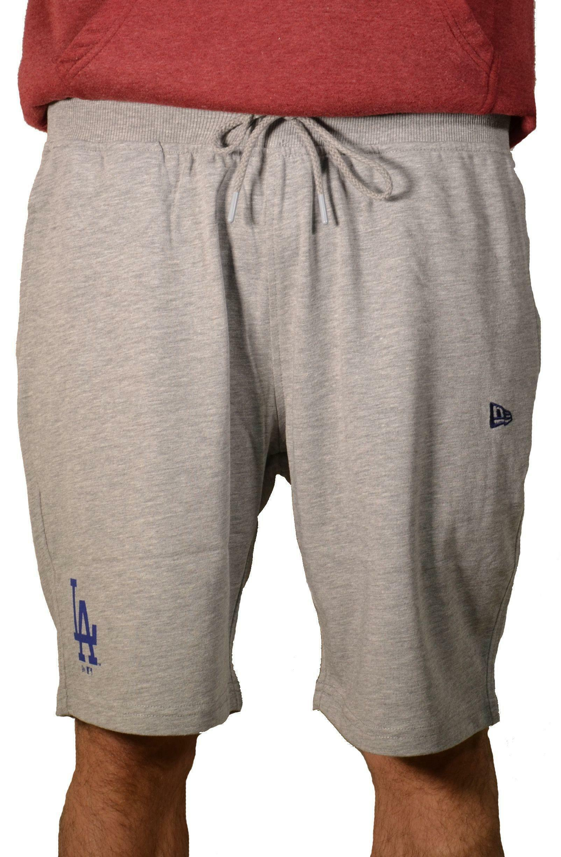 new era new era team app pantaloncini uomo grigi
