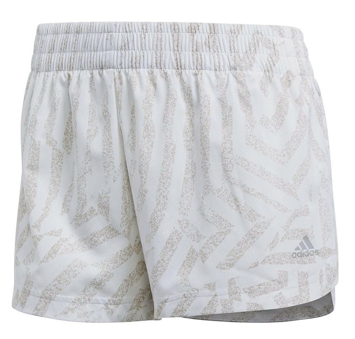 adidas adidas printed pantaloncini donna bianchi cd6415