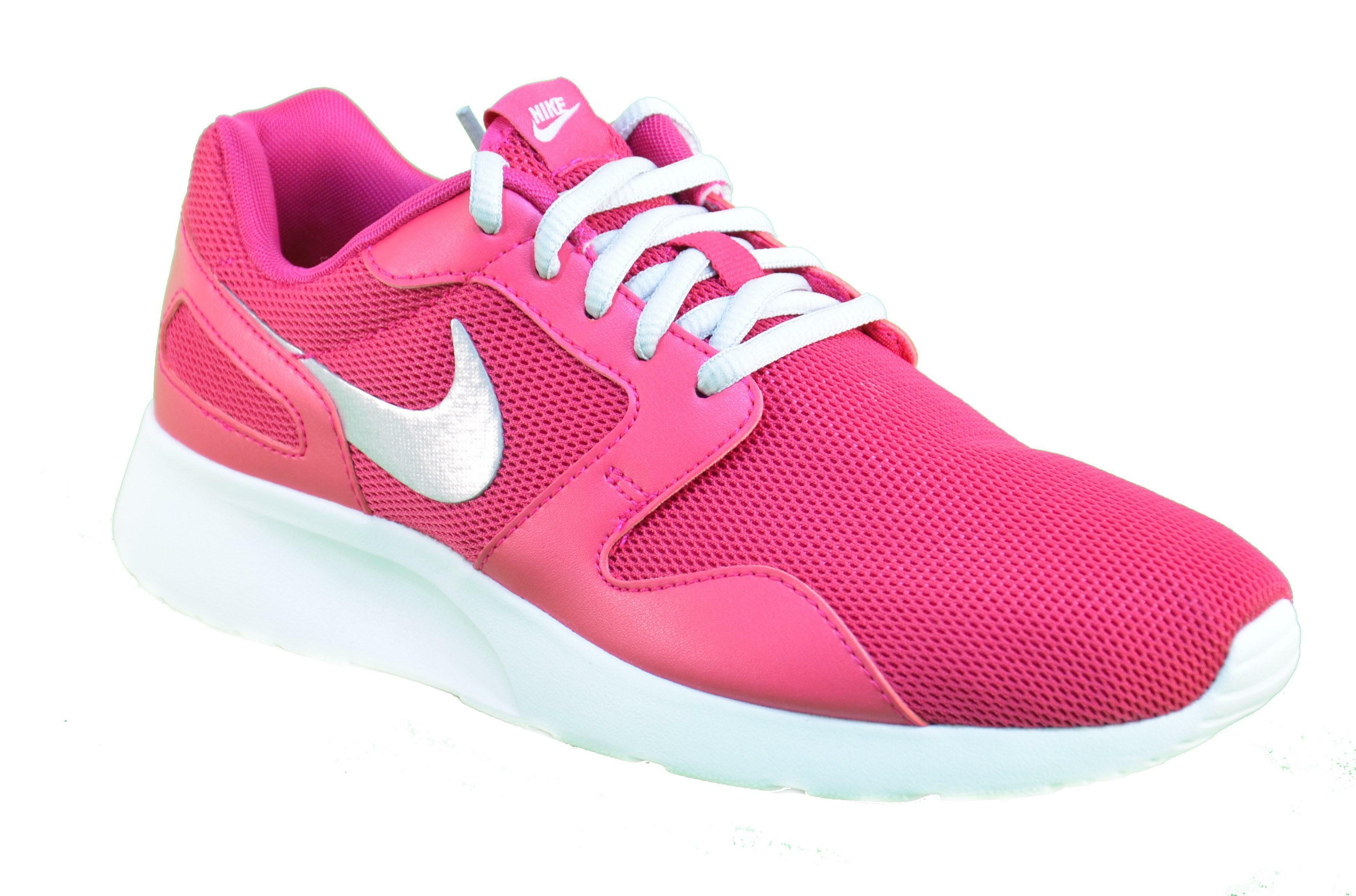 nike nike scarpe donna kaishi  wmns tela rosa lacci 654845 601