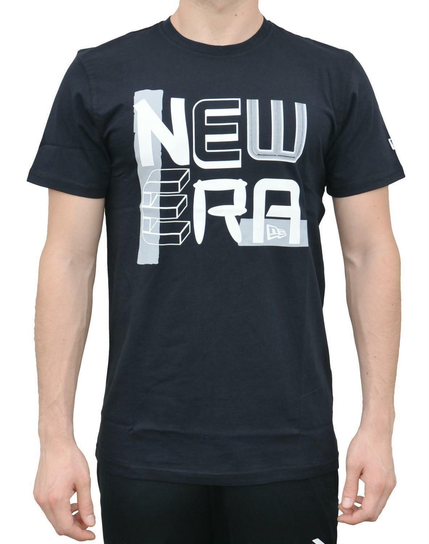 new era new era random stack t-shirt uomo nera 11278255