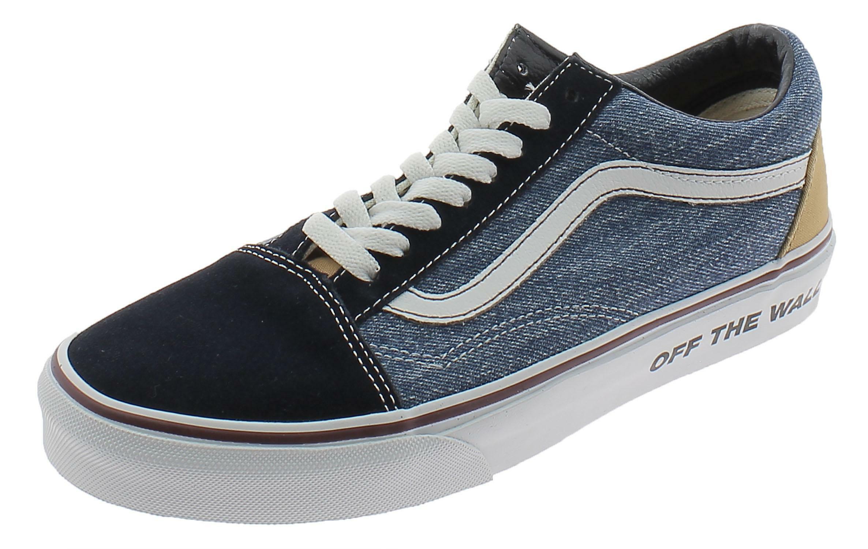 Scarpe sportive vans old skool vn0a4u3b0ek1 uomo blu jeans