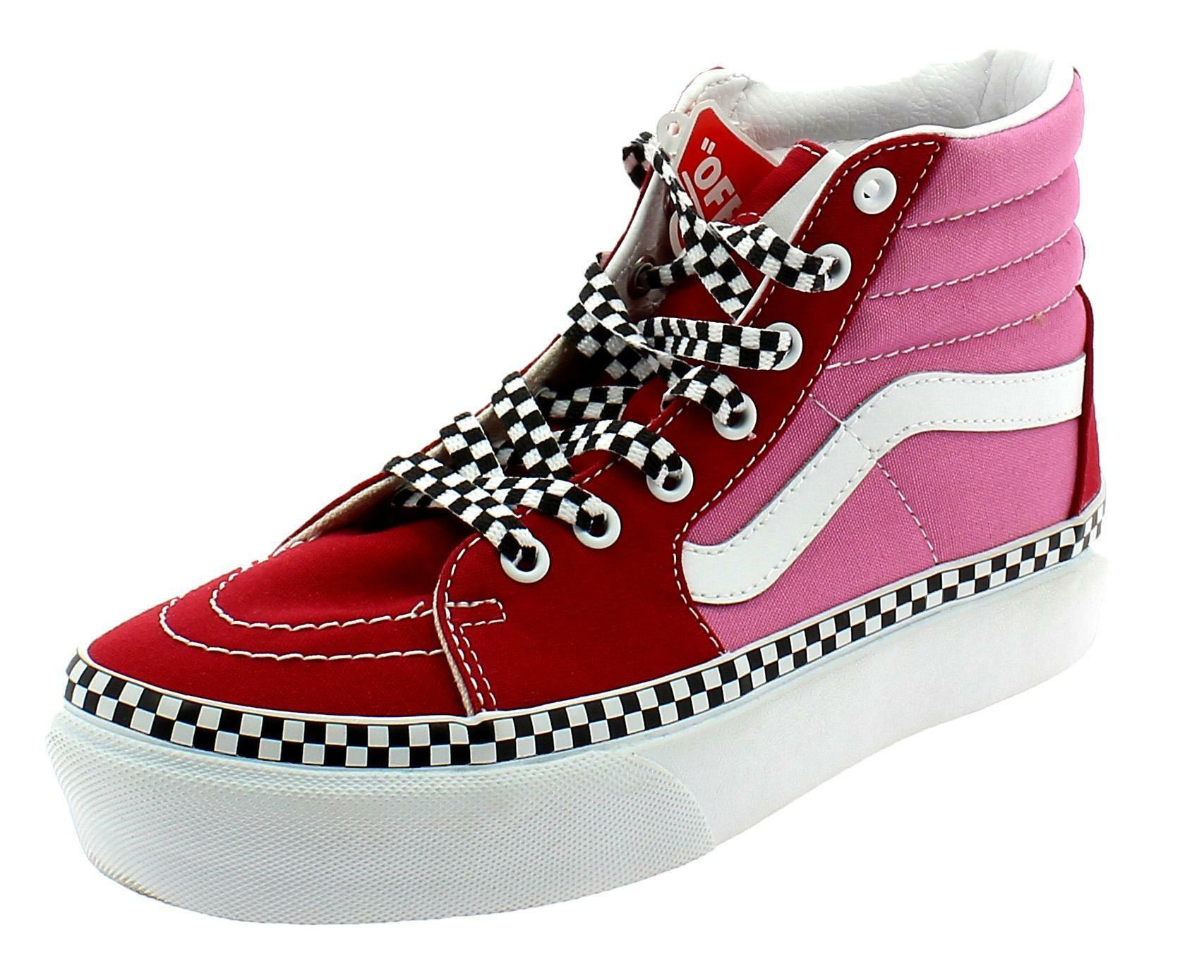 scarpe vans donna rosse