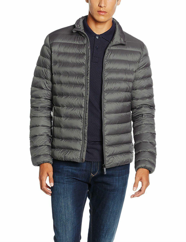geox down jacket giubbotto uomo grigio m6425df1069