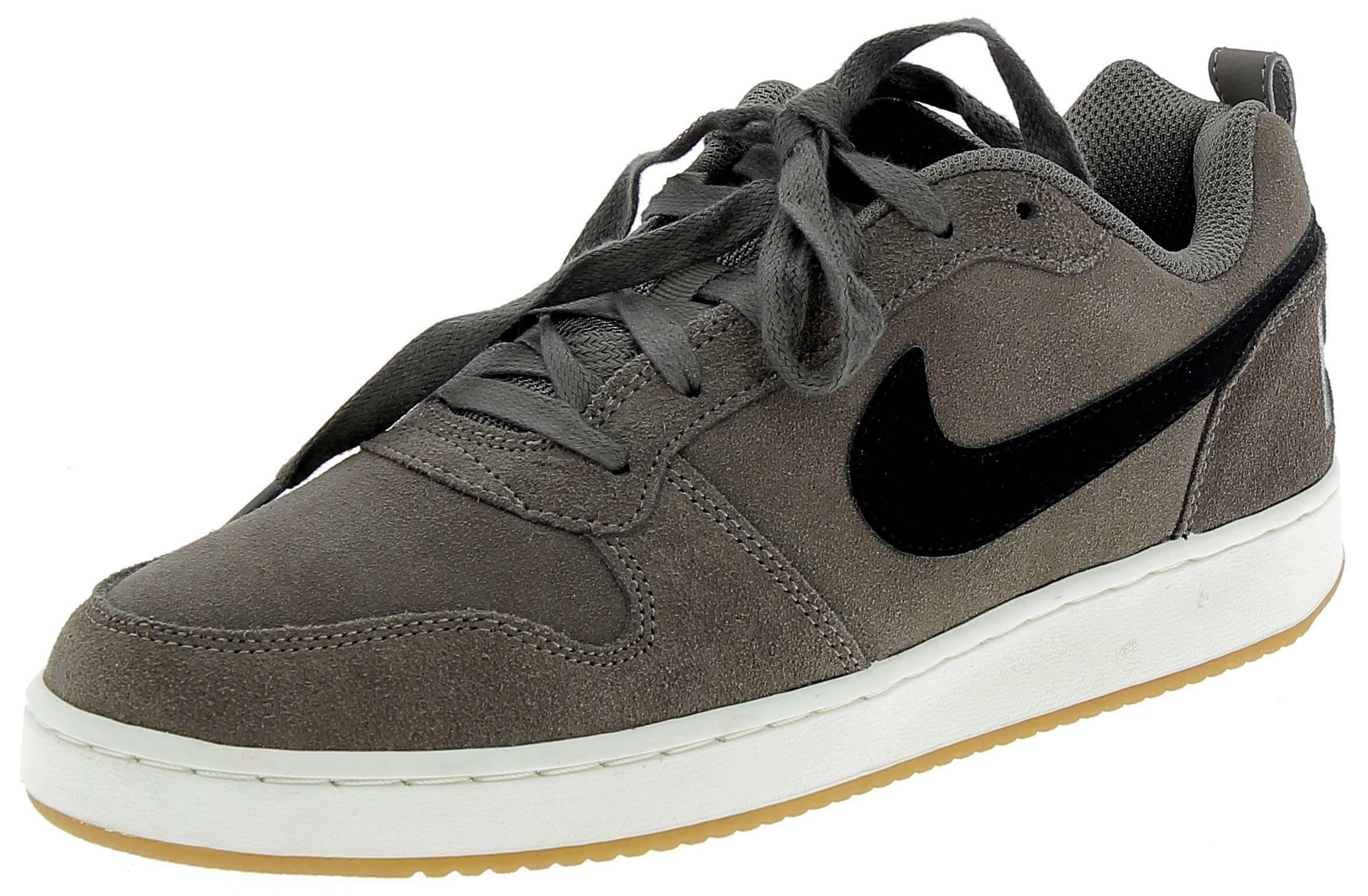nike nike court borough low prem scarpe sportive uomo marroni