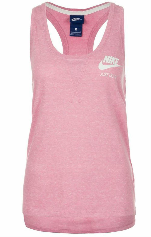 nike nike sportswear vintage canotta donna rosa