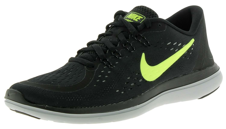 Flex 2017 Running Scarpe Uomo Nike Nere Volt n8OPwkX0