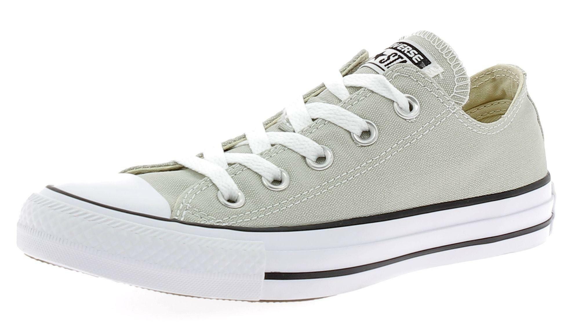 converse converse all star chuck taylor ox light surplus scarpe sportive grigie
