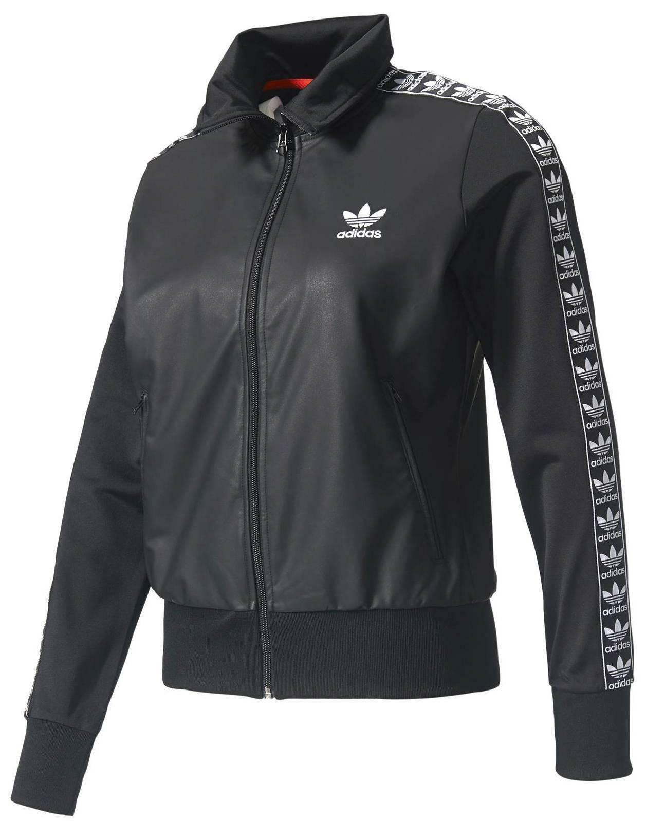 adidas adidas originals firebird tt giacchetto donna nero