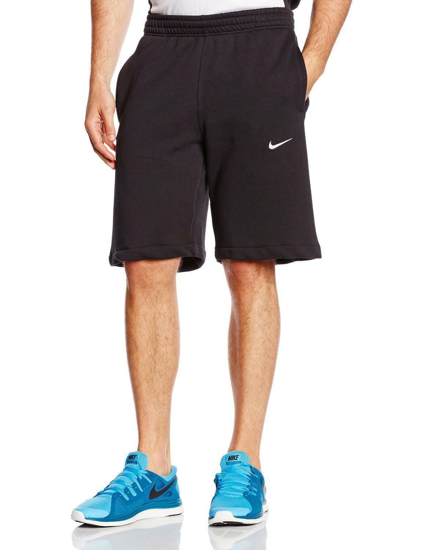 nike nike club swoosh shorts uomo neri 629206 010