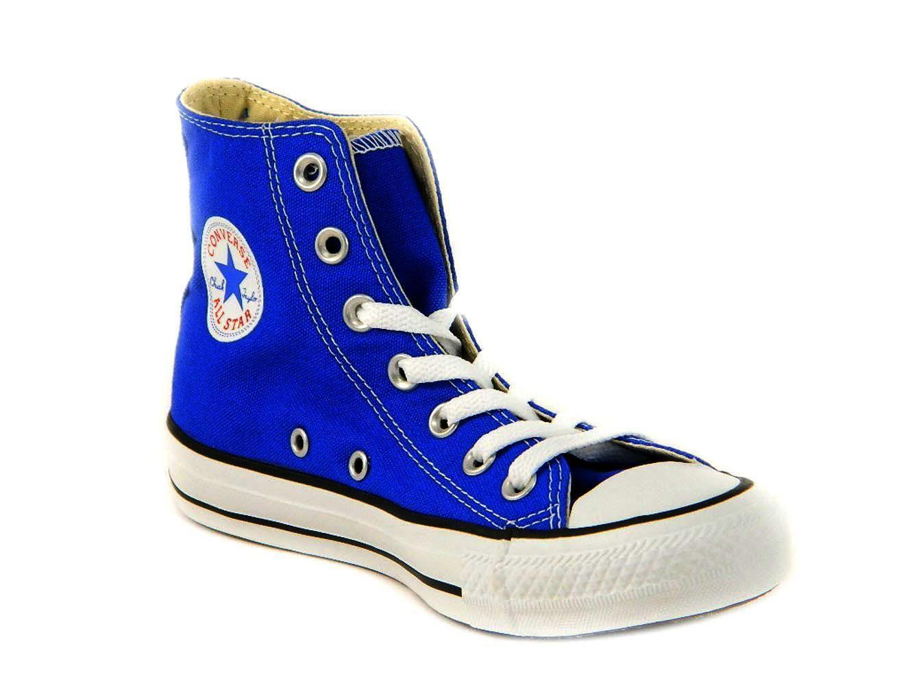 converse converse all star ct scarpe sneakers alte hi radio blue junior 342366c