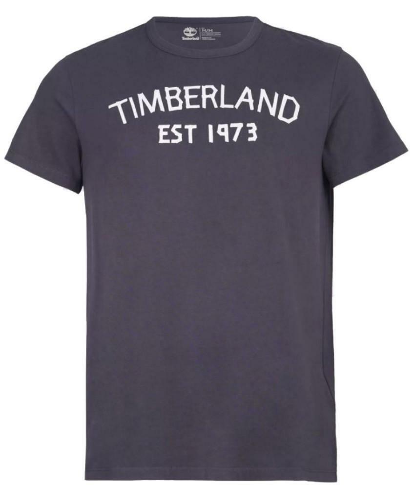 timberland timberland ss tbl tape t-shirt uomo grigio