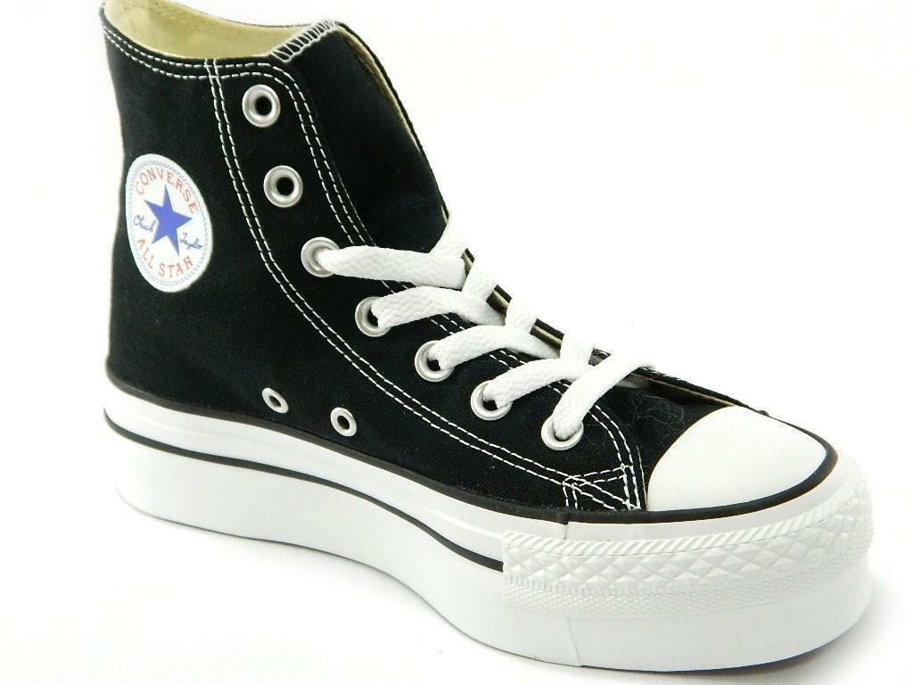 scarpe converse all star donna nere