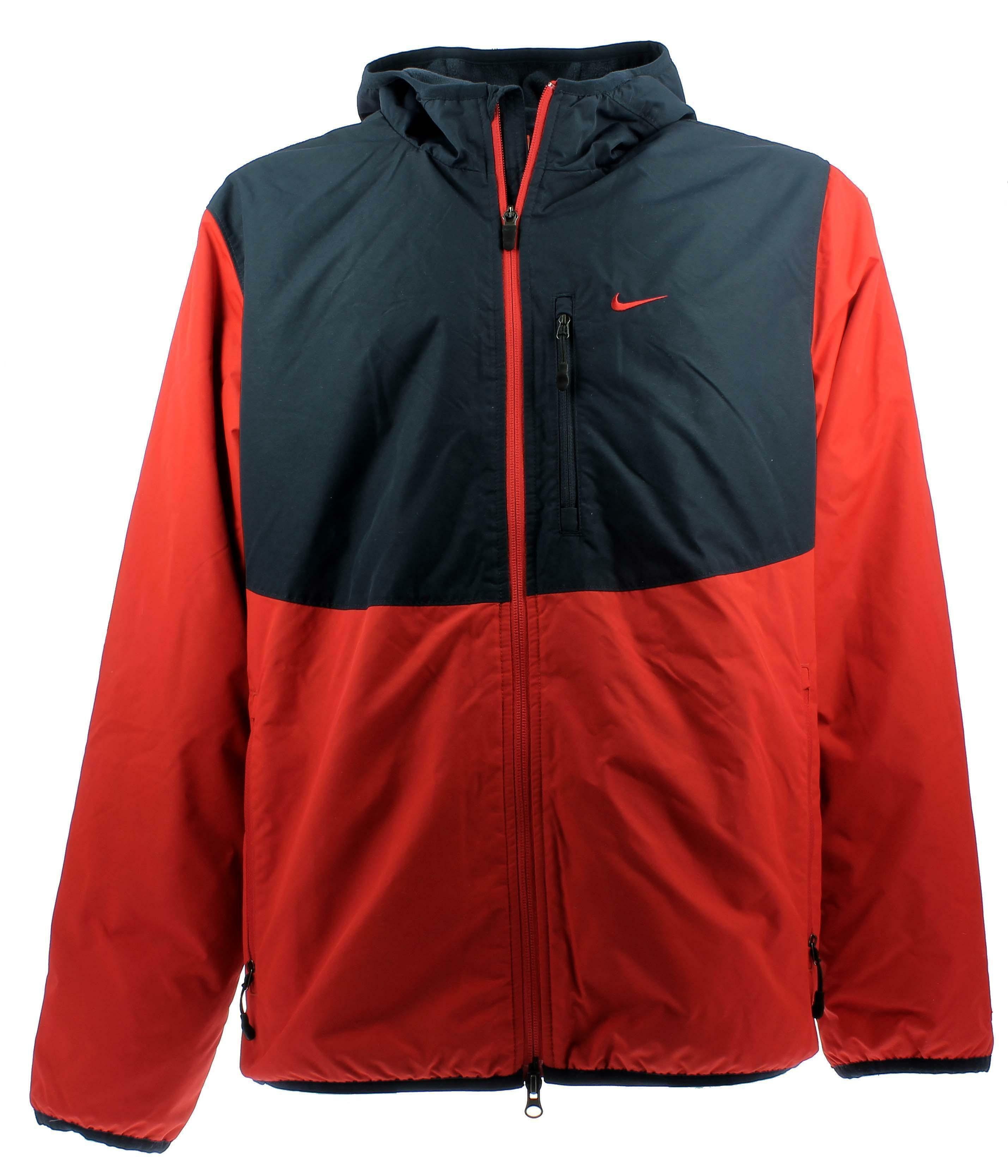Thermique Veste Rouge Homme Bleu Nike Polaire Doublèe 1qUwfOfZF