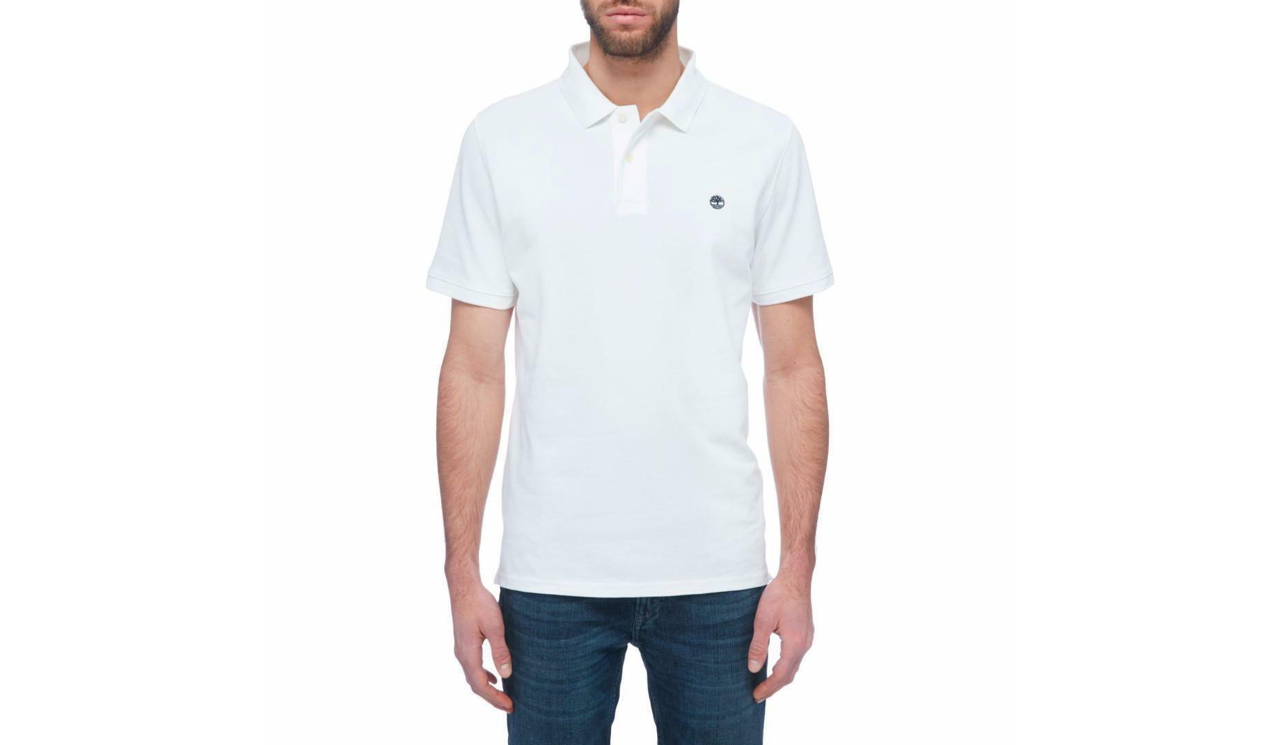 timberland timberland slim millers river polo uomo bianca