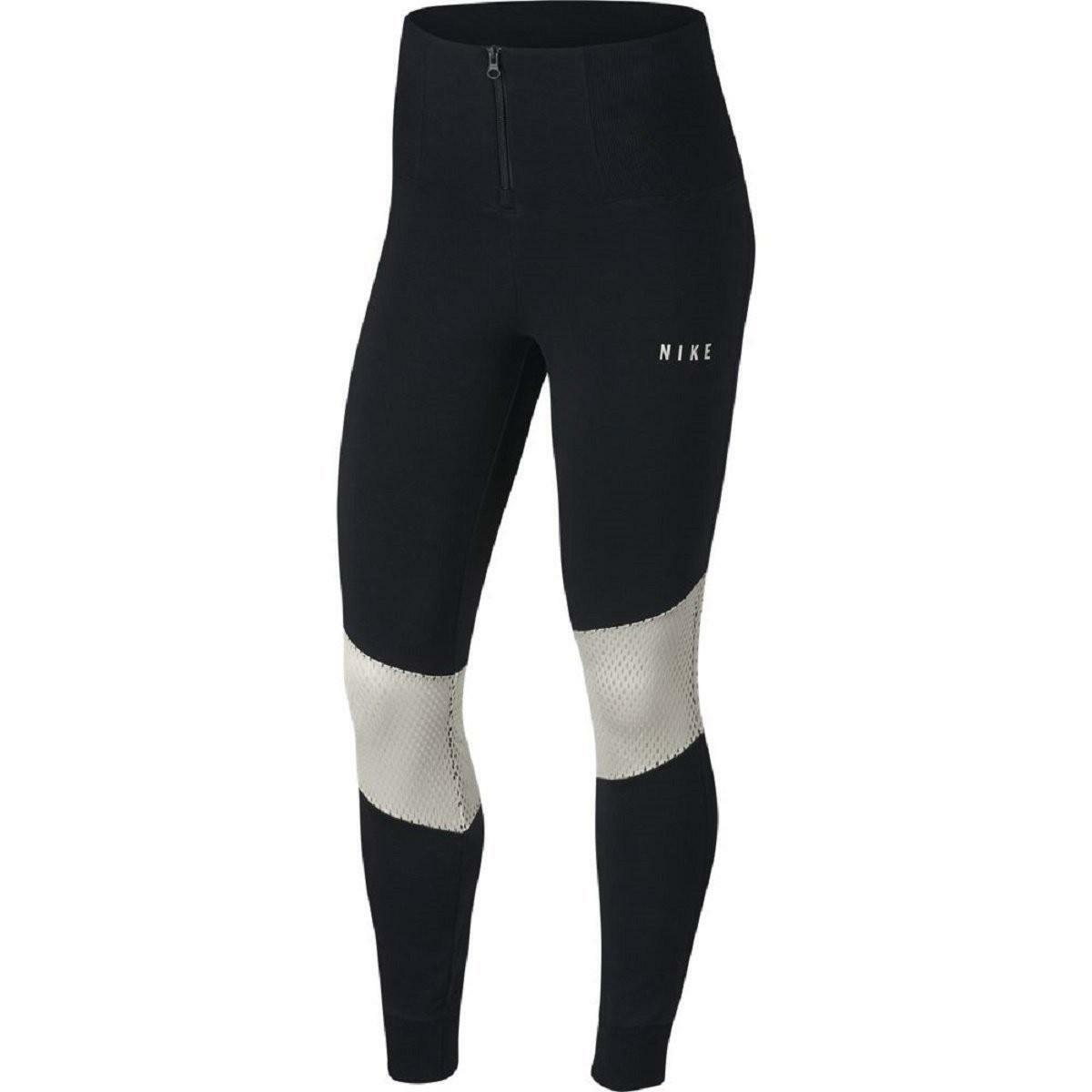 nike nike essential leggings mesh donna neri 893663011