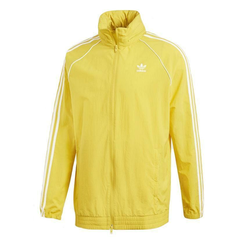 adidas adidas sst windbreaker giacchetto uomo giallo cw1312