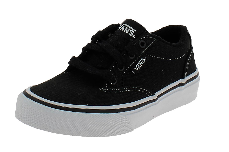 scarpe bambina vans nere