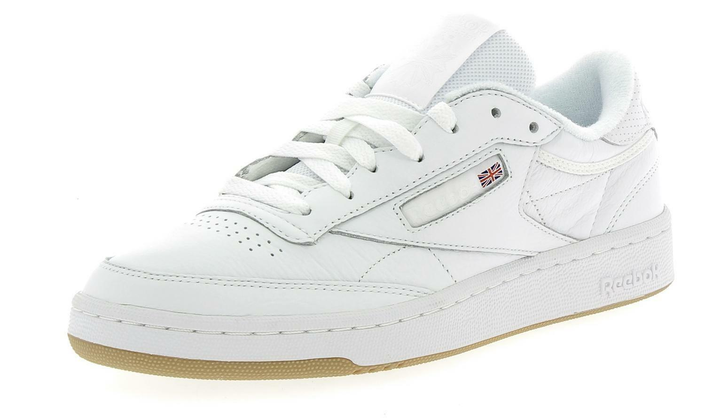Reebok club c 85 scarpe sportive uomo bianche