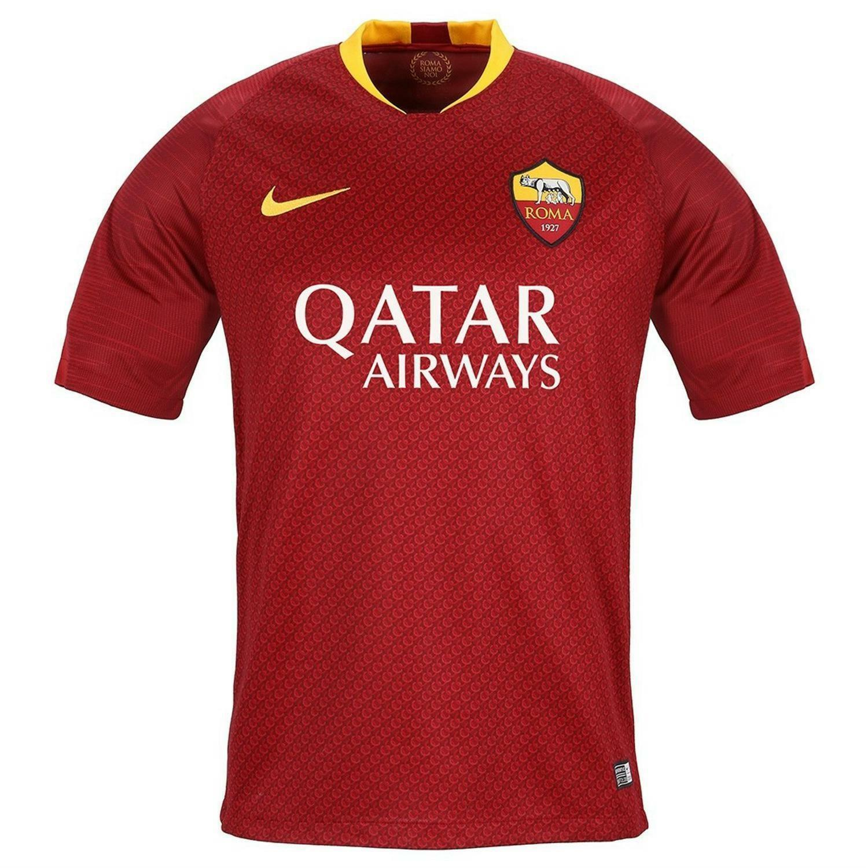 nike nike roma t-shirt gara home 2018/2019 rossa 919020677