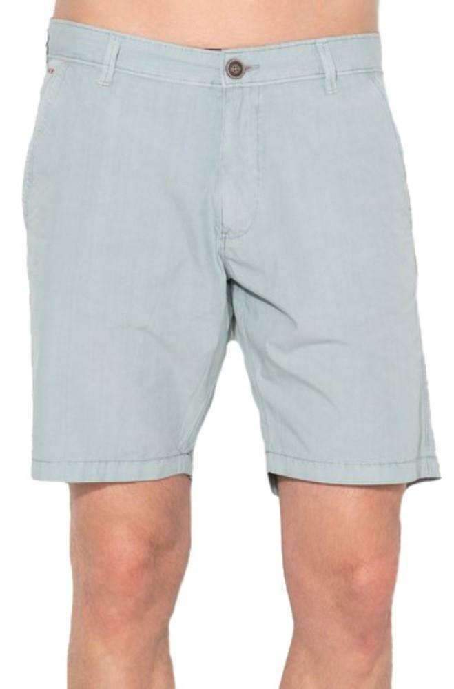 napapijri napapijri nayerou popeline pantaloncini uomo celesti