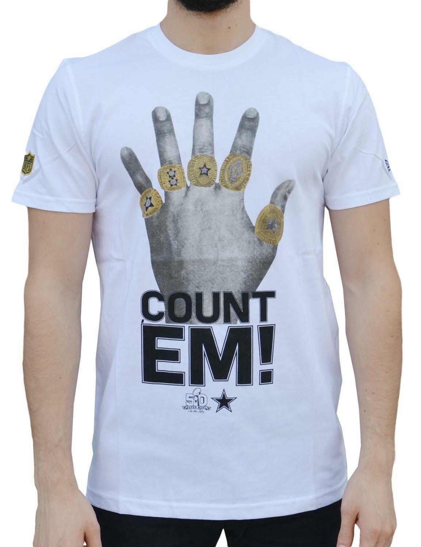 new era new era rings dalcow t-shirt uomo bianca 11208470