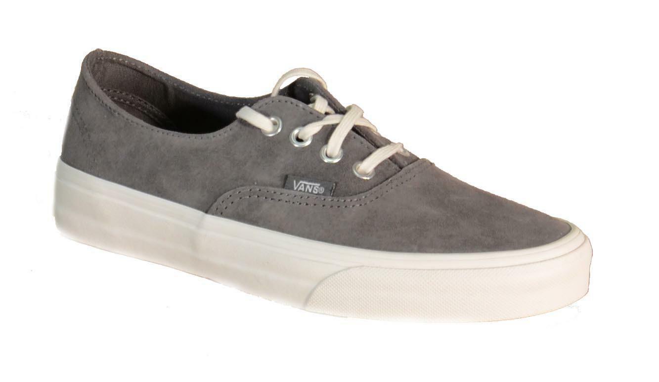 vans vans authentic decon scarpe bambina grigie pelle 18chwe