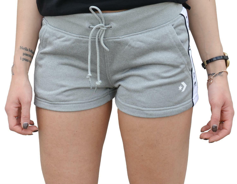 prezzo di fabbrica 4b936 6105e Converse pantaloncini donna grigi 5764a01