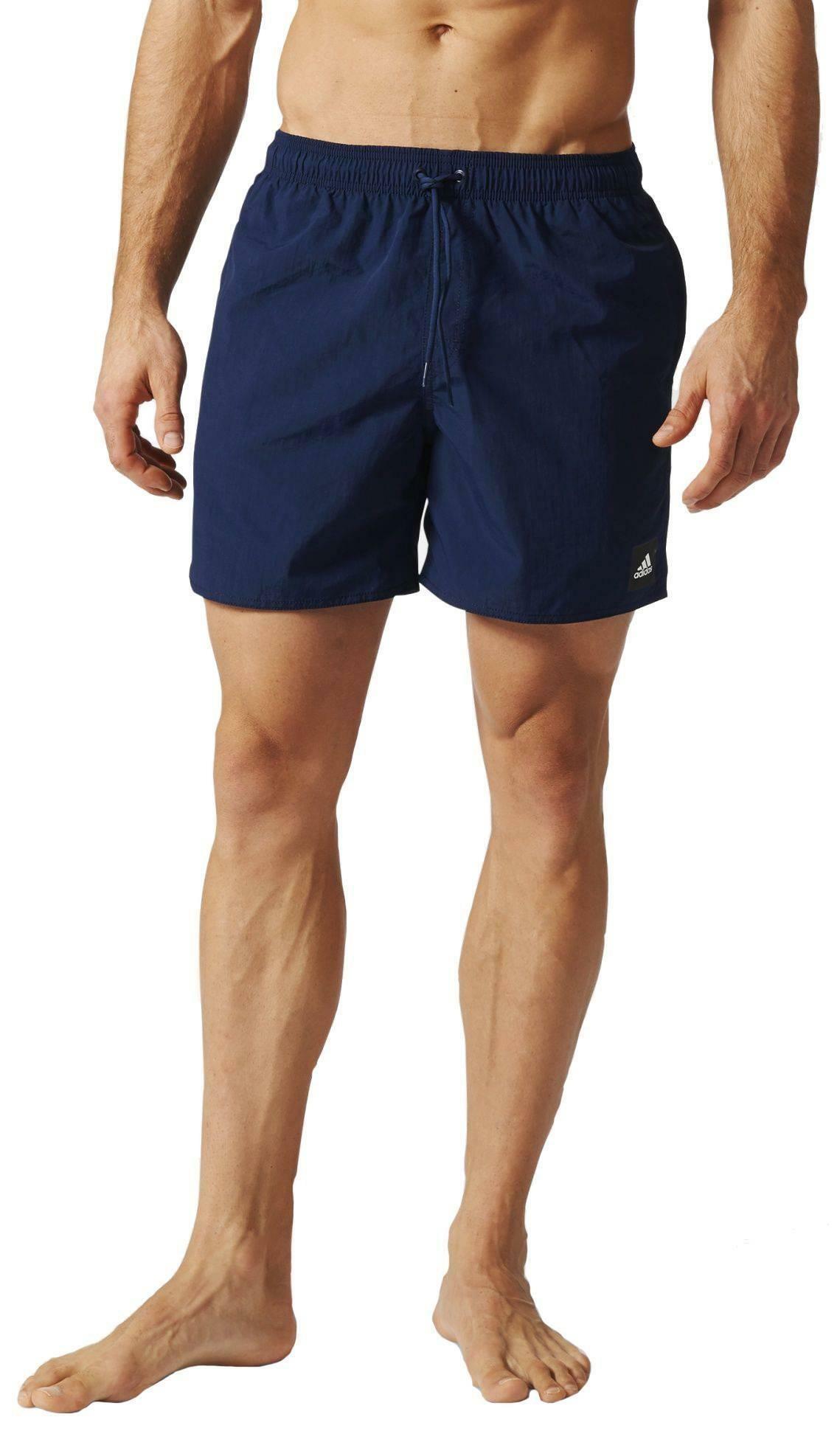 adidas solid sh sl costume uomo blu