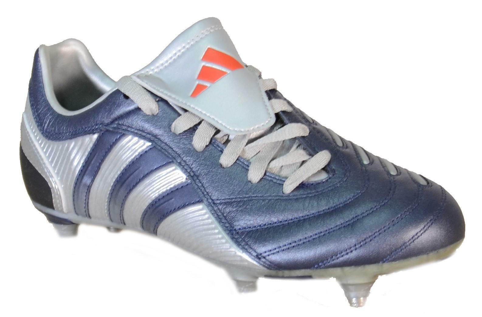 adidas pulsado sg scarpini calcio blu pelle 041615