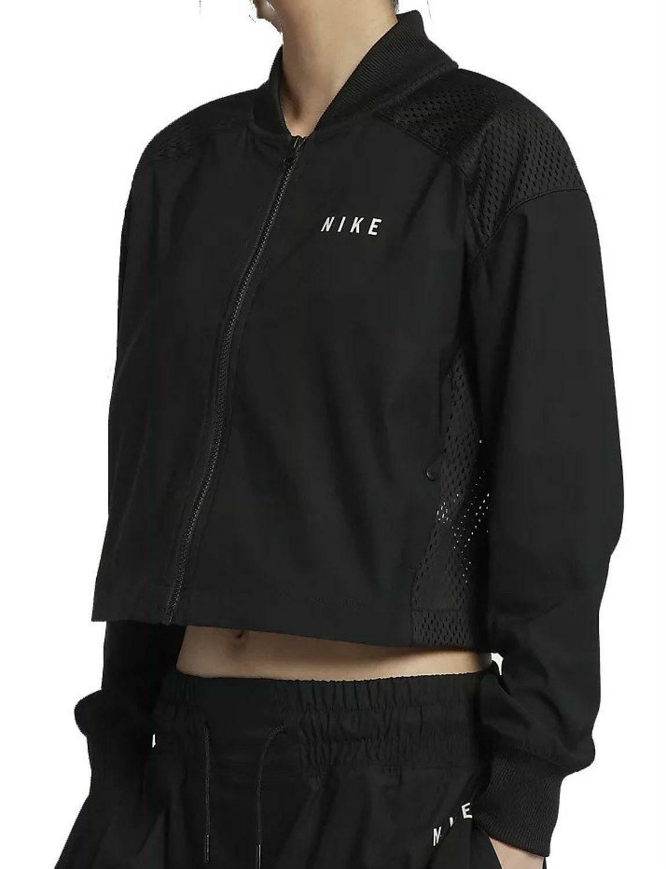 nike nike sportswear bomber giacca donna nera 922101010