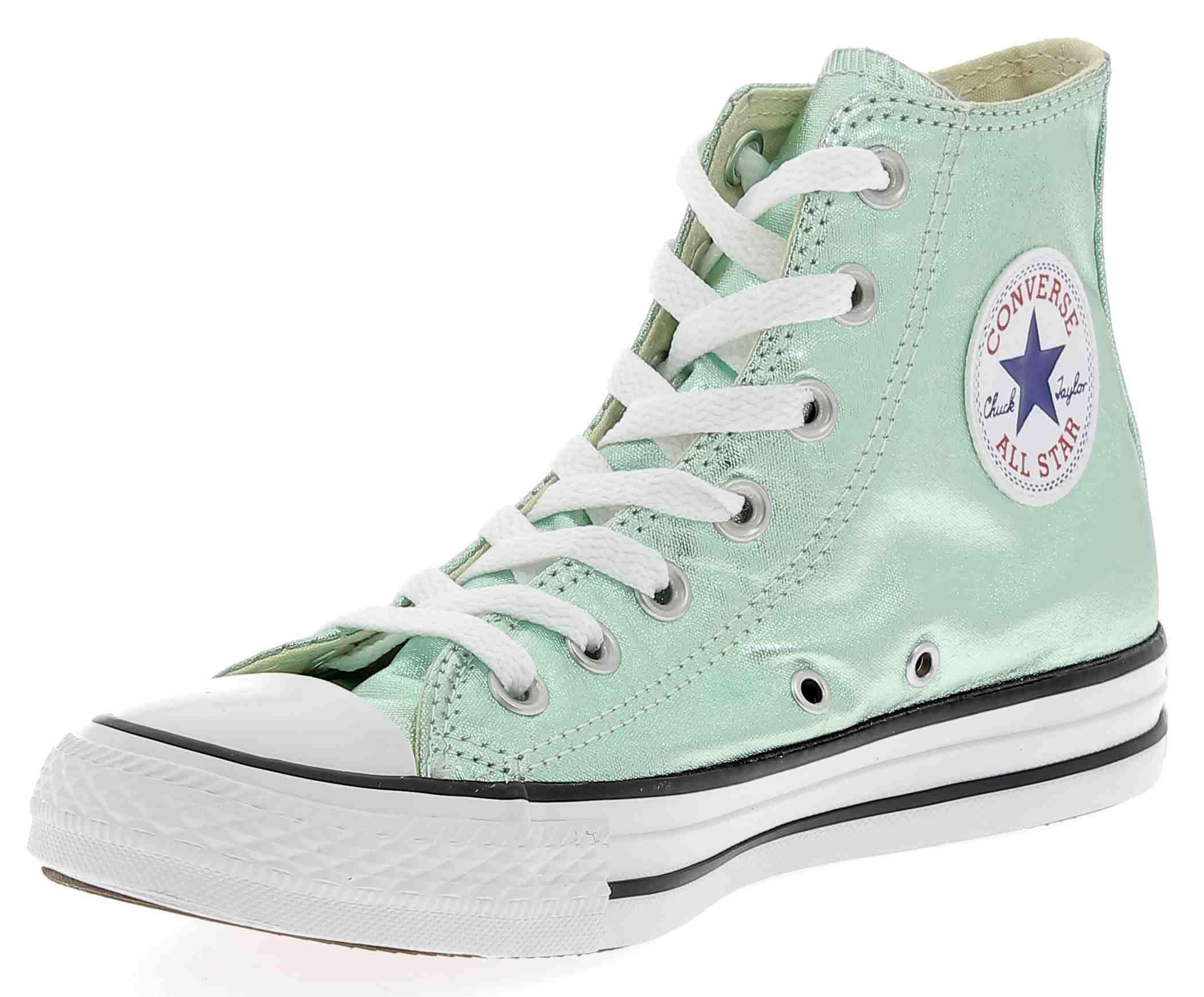 converse converse ctas hi scarpe sportive verde metallizzato