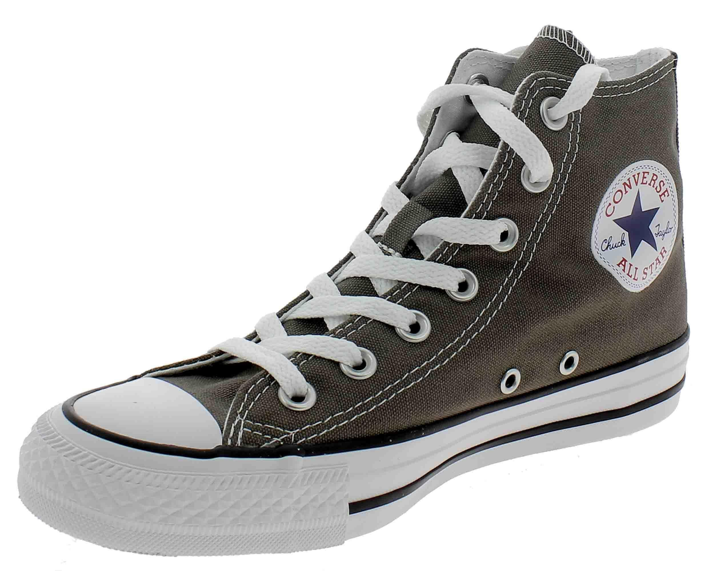 converse all star donna alte grigie