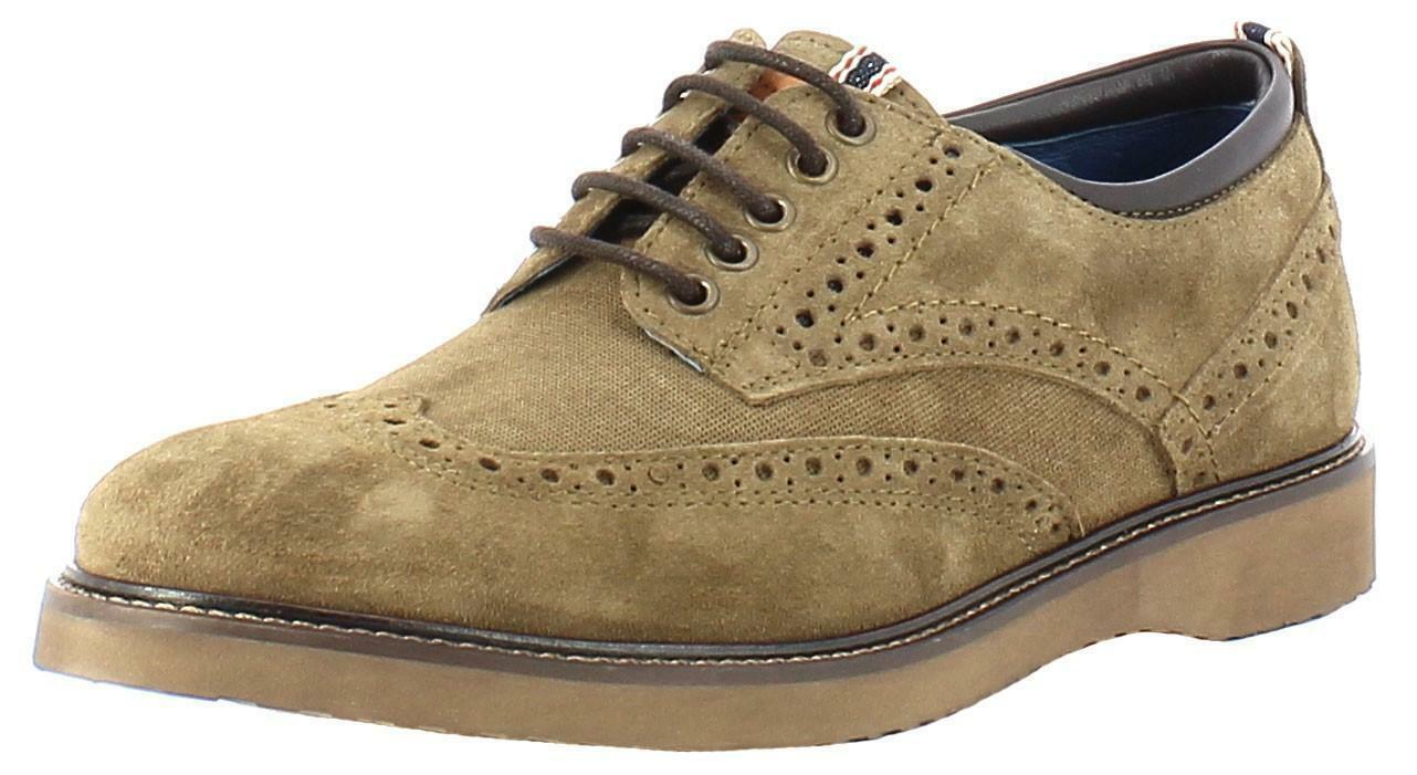 wrangler wrangler crossfield brogue suede scarpe uomo
