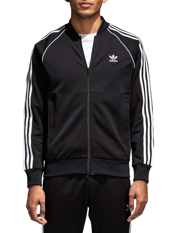 adidas adidas sst tt giacchetto uomo nero cw1256