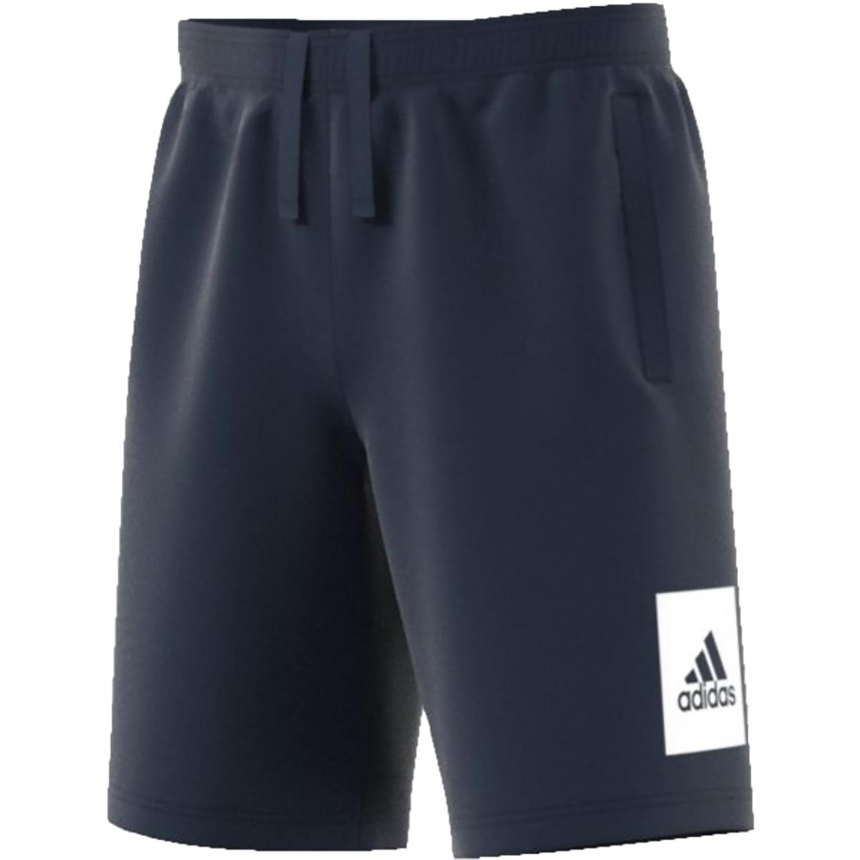 adidas adidas ess lo short ft pantaloncini uomo blu b47203